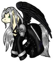 My Little Sephiroth by orasa