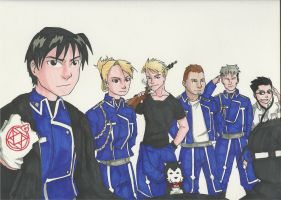 Roys Team by Mababwion1