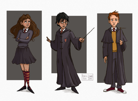 baby!golden trio by kacey-lynn