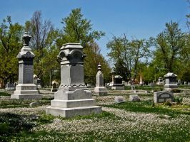 Cemetary II by Baq-Stock