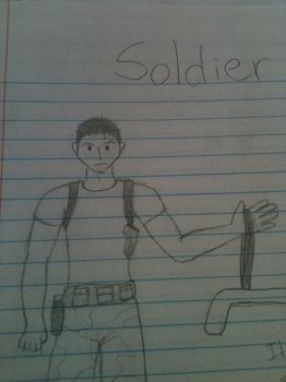 Momo's Soldier 1 by ZombieKiller1357