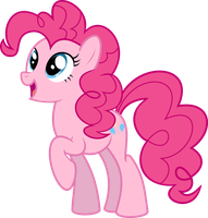 Pinkie Pie by BlueSnowfire