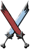 1: Twin corrosion swords by JOKEBEAN