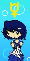 Sailor Mercury Bookmark by CynicalSniper