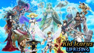 Kid Icarus Uprising Background by ChrisMeier018