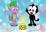 Spike and Baby Felix - Magic Bag of Tricks! by GamingGoru