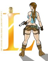 L is for Lara Croft by Inspector97