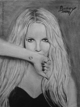 Britney Spears drawing by lyyy971