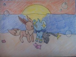 PMD Explorers of Sky - Reunited by AstralManaphy