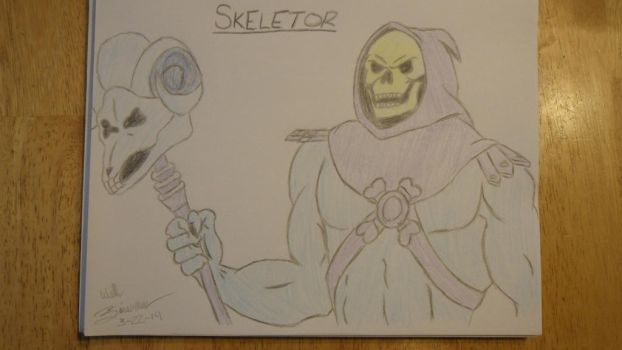 Skeletor by WilliamZimmermann