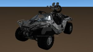 Warthog - M12 FAV (Halo 4) Variant II by Jamezzz92