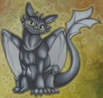 Toothless by CreativeKender