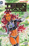 Starfire Sketch Cover by calslayton