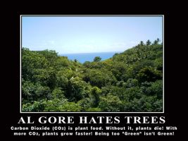 Al Gore Hates Trees by Elvis-Chupacabra