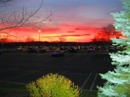Parking Lot Sky by WoodenOx