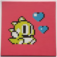 Bubble Bobble 2 - Hearts by nintentofu