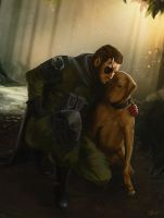 Diamond Dogs by SeeHangArt