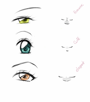 Eyes / Mounth - by DarkVanessaLusT