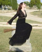 Gothic Witch 11 by HiddenYume-stock