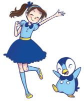 Piplup Party by courtneygodbey
