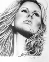 Pencil Drawing of Anna Paquin by rachbeth