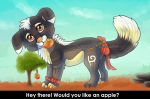 One apple a day keeps the Artblock away by Okoe