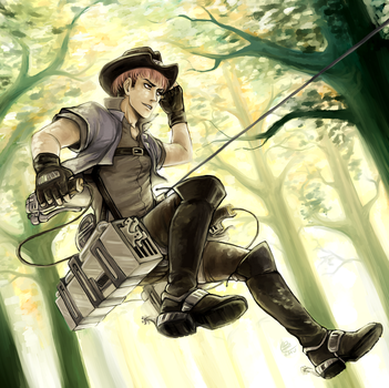 Cowboy Jean by omurizer