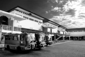 Terminal Umbulharjo BW by gonnaday