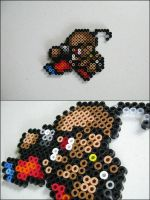 Final Fantasy iv Yang bead sprite by 8bitcraft