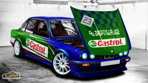 Bmw 325 E30 Castrol Racing by x-tomi