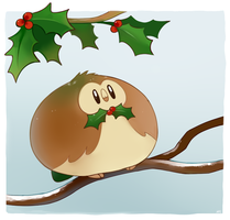 Small Rowlet by HappyCrumble