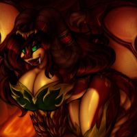 .:Mother Of All Demons:. by SuckerForDragons