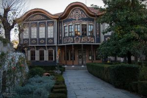 Houses of Plovdiv by LunaFeles