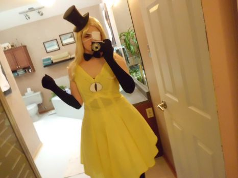 Fem!Bill Cipher cosplay (4/5) by Colette123