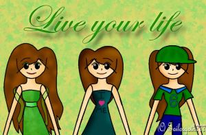 Live your life by Joy-Pedler