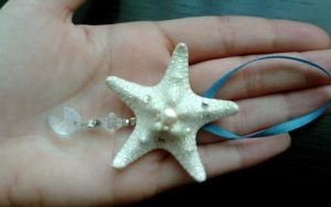 Winter Ice Sparklefish Ornament by TheRealLittleMermaid