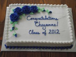 Graduation sheet cake by ayarel