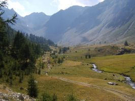 near Refuge Migliorero by FraterSINISTER