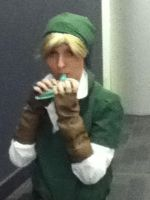 My cosplay of Link by Sinta54