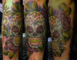 candy skull by dannygarcia