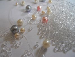 Glass Pearls and Seed Beads 2 by AgtBauer24