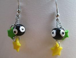 Soot Sprite Earrings by SneakyCinnamon