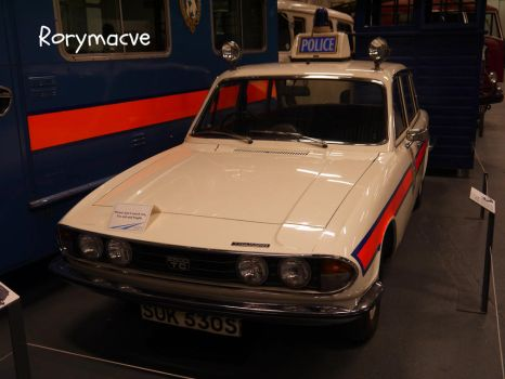 1977 Triumph 2000 Police Car by The-Transport-Guild
