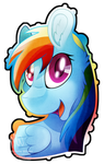 MLP: Canon: Rainbow Dash by Mychelle