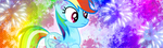 Rainbow Dash Signature (Mane 6 Collection) by Lunell