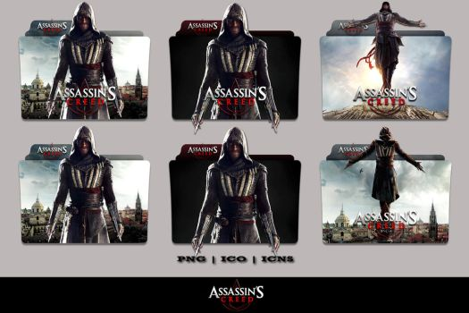 Assassins Creed (2016) Folder Icon Pack by Bl4CKSL4YER