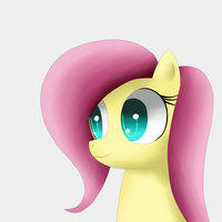 Fluttershy 5(non tablet drawing) by King-Sombrero