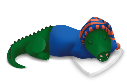 Dreaming Gator by beachrain