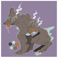 Gem Beast Adoptable CLOSED by Late-Night-Cannibals