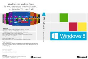 Windows 8 Release Preview DVD Cover (sv-SE) by Misaki2009